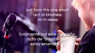 Repeat youtube video Ed Sheeran-Sing Lyrics Español-Ingles