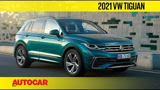 2021 Volkswagen Tiguan Facelift - Sleeker and Sportier | First Look | Autocar India