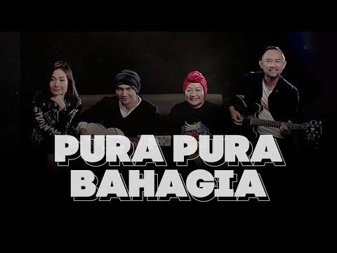 Lyrics and chord guitar Anji - Pura Pura Bahagia (Feat. Tike, Ronald & Melissa)