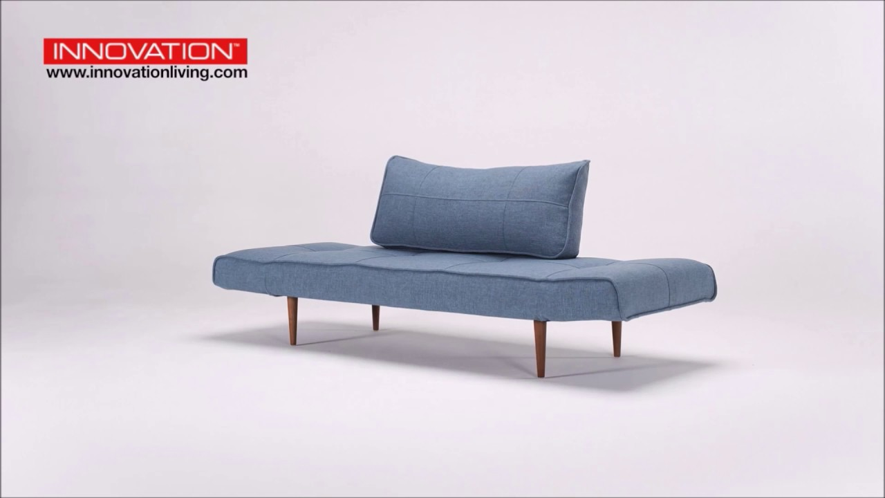 Zeal Deluxe Daybed Mixed Dance Light Blue Sofa Bed By Innovation Living