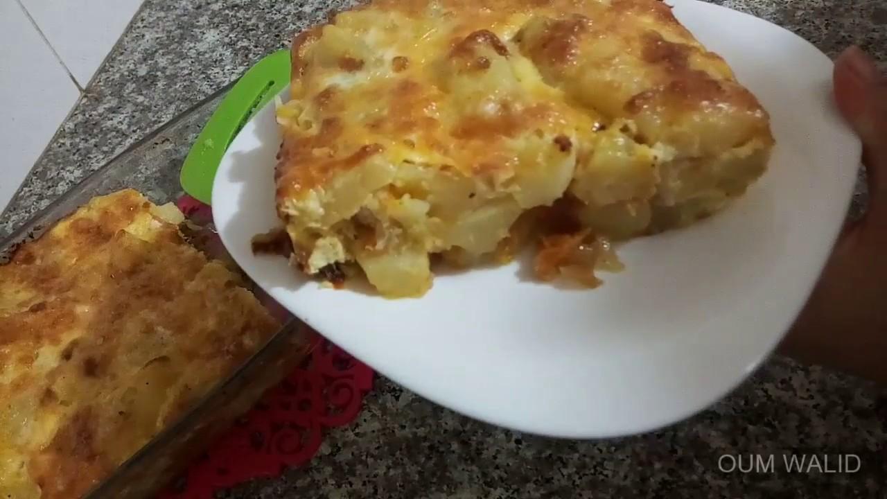 مطبخ ام وليد غراتان البطاطا السريع