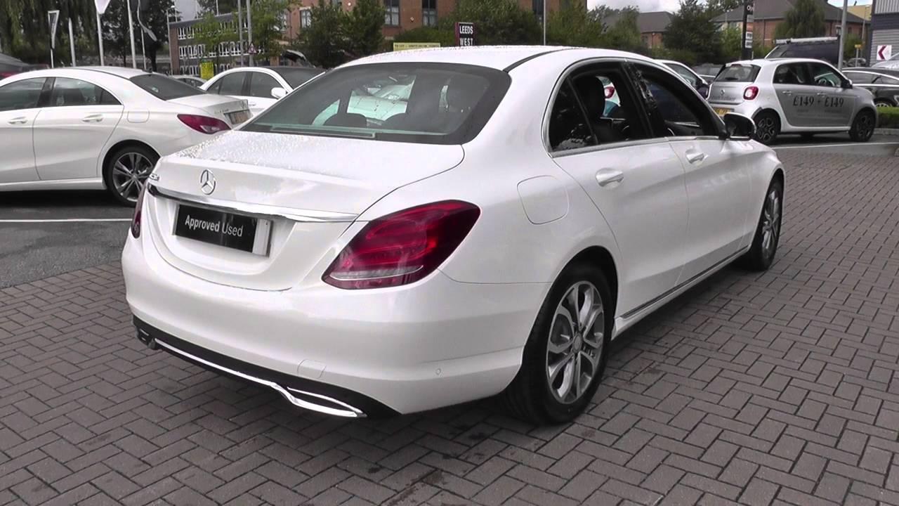 Mercedes benz c class c200 sport 4dr u24505 youtube for Mercedes benz c200