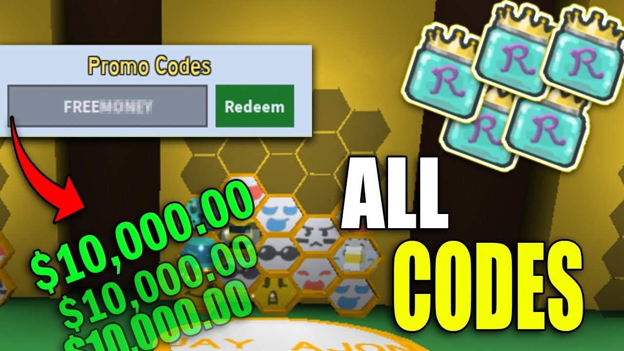 All New Promo Codes In Bee Swarm Simulator Roblox Bee Swarm