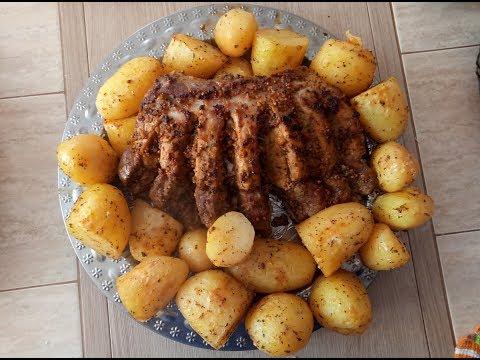 Сочная Свинина с Картошкой в Духовке