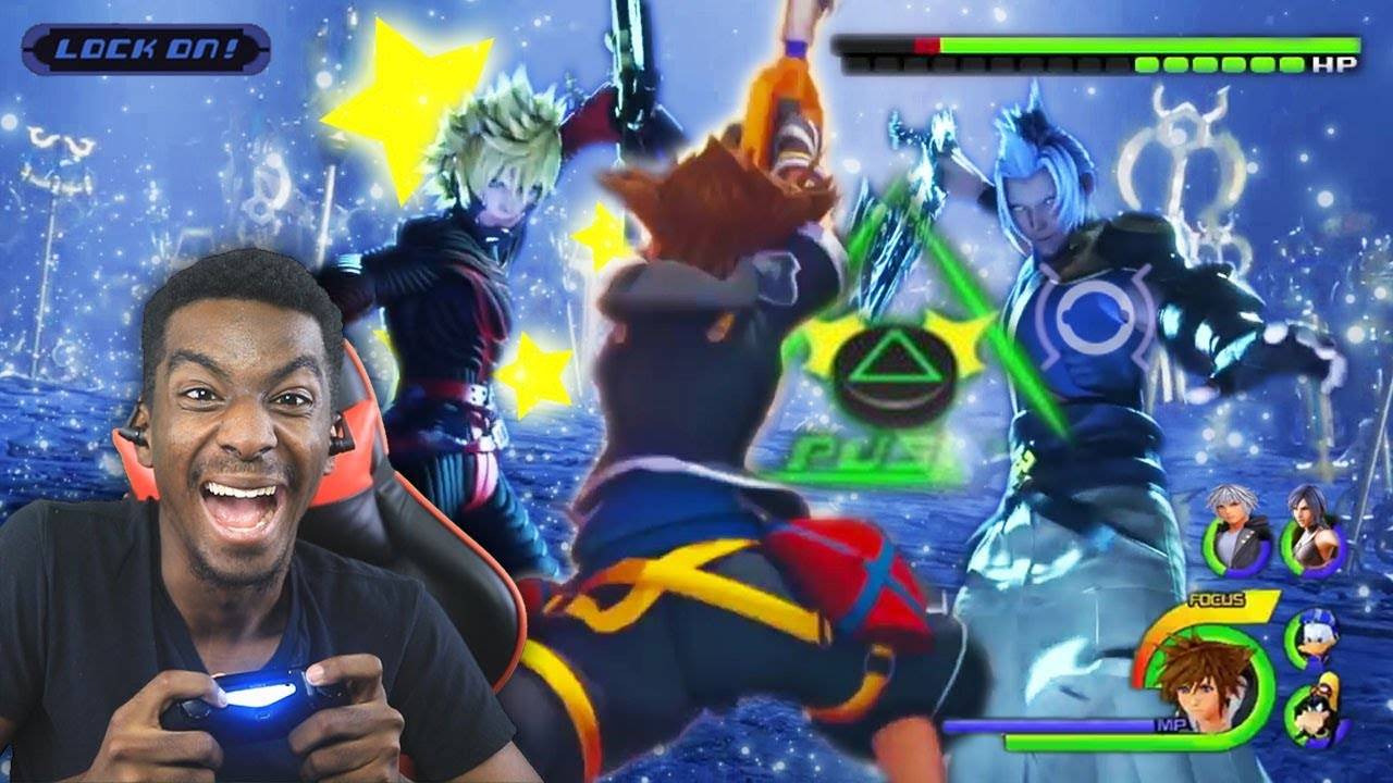 Kingdom Hearts 3 Full Game Leaked Walkthrough Gameplay