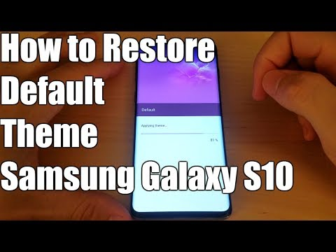 how-to-restore-default-theme-galaxy-s10