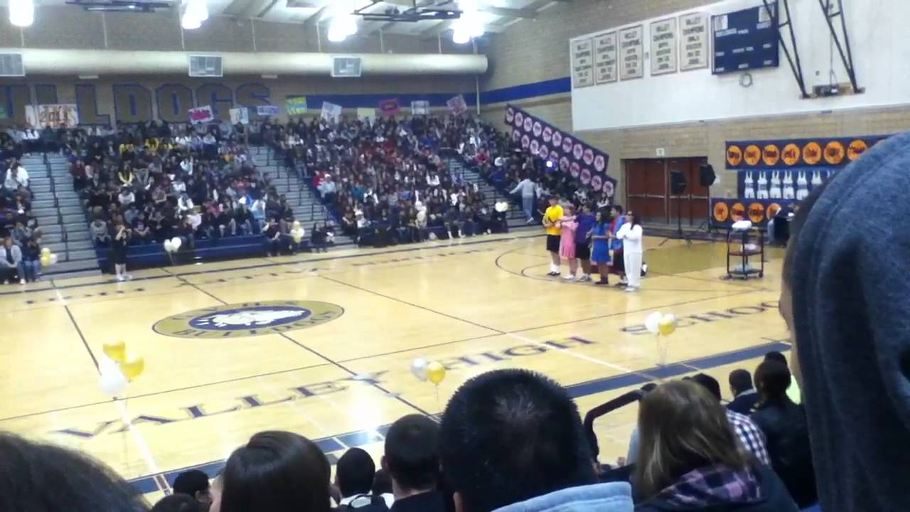 Golden Valley High School 2012 Rally Youtube