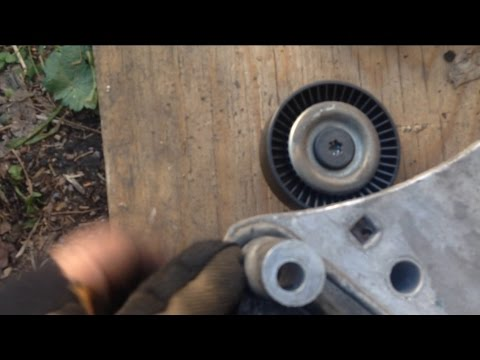 1hr 04 Dodge Neon Idler Pulley Replacement Youtube