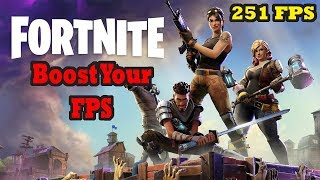 Fortnite How to Get More FPS - Fortnite Updated FPS Optimization Guide - Fortnite FPS Helper