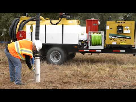 Hydro Excavation With Vac-tron Equipment