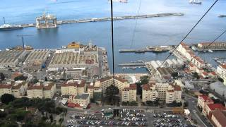 Cable Car Ride - Rock of Gibraltar