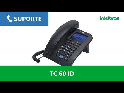 Telecom | Como instalar o suporte de mesa no telefone com fio TC 60 ID - i1334