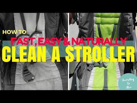 HOW TO CLEAN A STROLLER | FAST, EASY & NO HARSH CHEMICALS