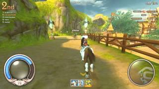 Alicia Online Gameplay {Horse Racing} [Race 1] --- 11/9/2013