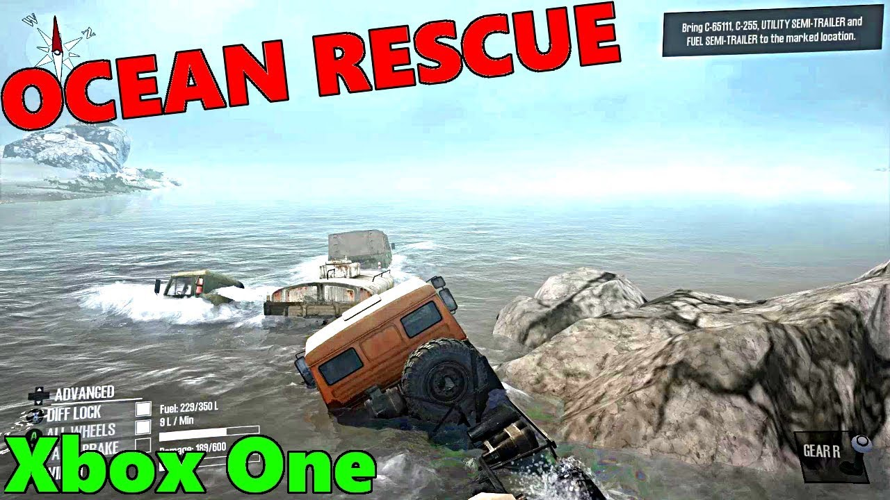 spintires mud runner xbox one most difficult rescue ever. Black Bedroom Furniture Sets. Home Design Ideas