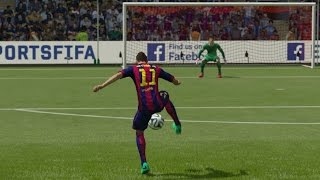 FIFA 15 ALL SKILLS TUTORIAL | HD 1080p
