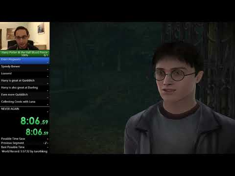 Harry Potter and the Half Blood Prince (PC) 100% Speedrun in 5:51:02 RTA (PB/WR)