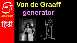 Van de Graaff Generator - Construction Principle and Theory | video in HINDI | EduPoint