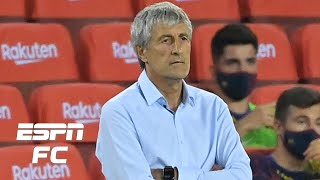 Barcelona 2-2 Atletico: Lionel Messi reaches 700, but Quique Setien looks out of his depth | ESPN FC
