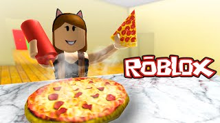 BEING A PIZZA CHEF! w/ ItsFunneh and Draco | Roblox Meep City
