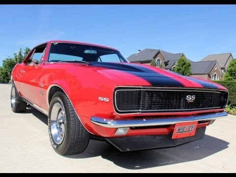 1967 chevy camaro nickey clone classic muscle car for sale in mi vanguard motor sales youtube. Black Bedroom Furniture Sets. Home Design Ideas