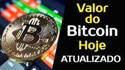BITCOIN HOJE EM DÓLAR | Valor do Bitcoin em USD Hoje Para Comprar e Vender
