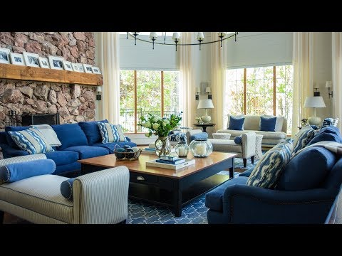 Interior Design — Grand Lake House Inspired by the Hamptons