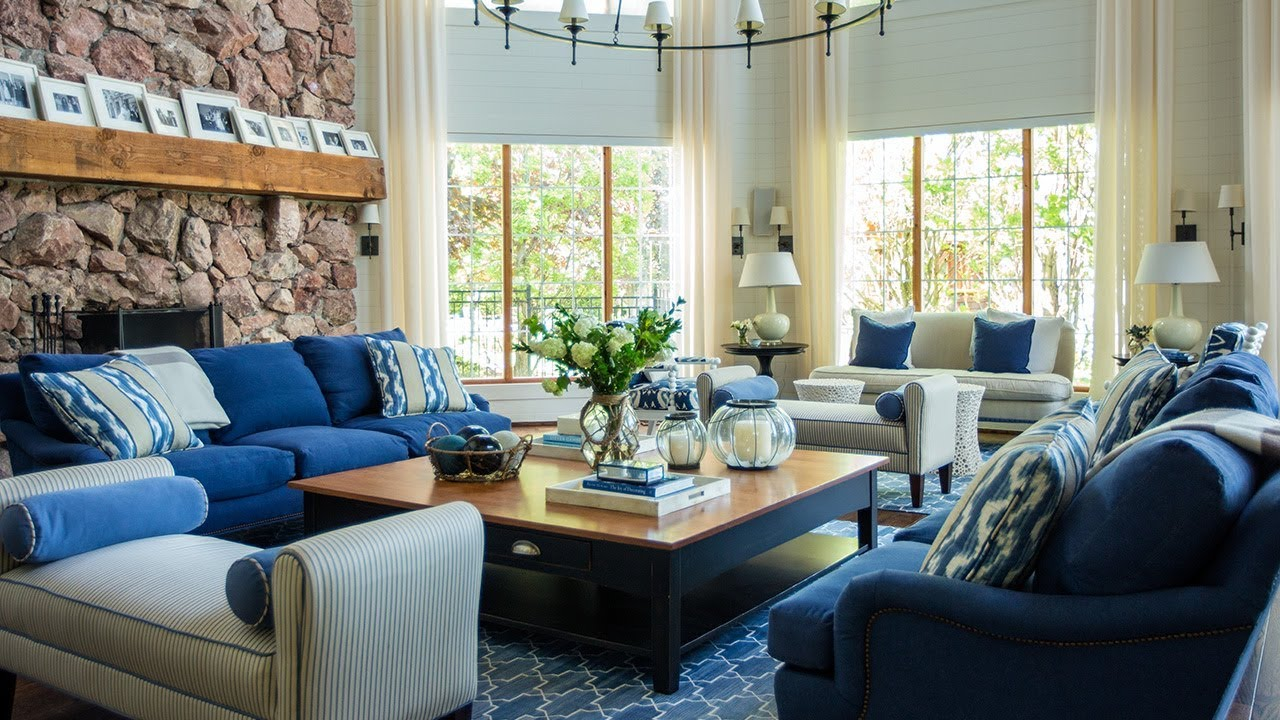 Interior Design U2014 Grand Lake House Inspired By The Hamptons