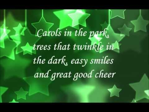 That's What I Love About Christmas - Karaoke/Lyrics Sing-Along Video