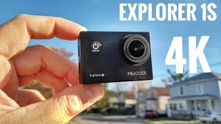 mGCOOL Explorer 1S 4K WiFi Action Camera REVIEW & Sample Videos