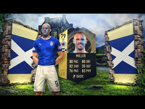 KING KENNY MILLER THE GREAT! BEST OLDEST INFORM IN FIFA! FULL SCOTLAND TEAM! FIFA 18 ULTIMATE TEAM