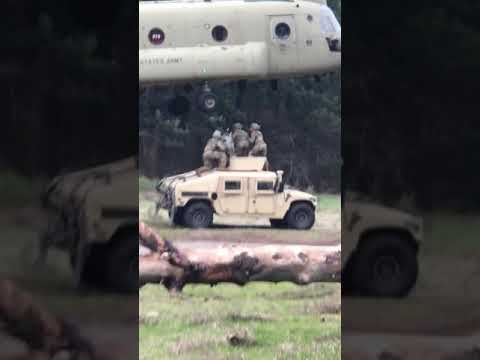 US Army Sling Load Operations pt. 2