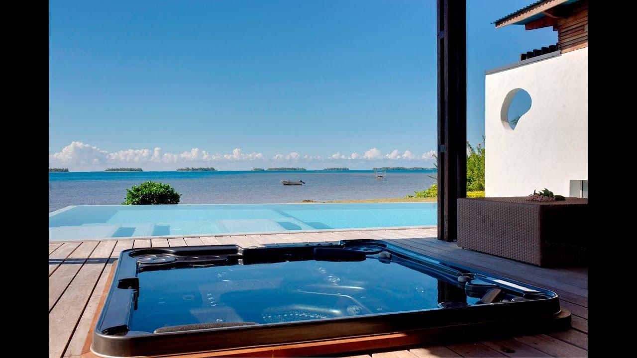a vendre: taha'a, magnifique villa d'architecte, bord de mer. - youtube