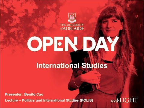 International Studies - Open Day 2015