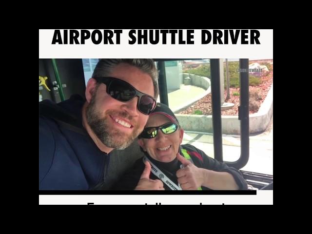 TJ The World's Best Shuttle Driver