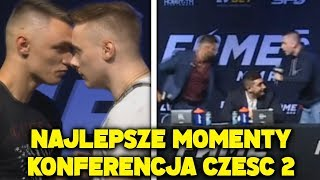 FAME MMA 5 KONFERENCJA - RAFONIX, OLEJNIK, MALCZYŃSKI, ISAMU, ADBUSTER