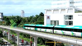 Voir Comment kochi Métro traverse Kochi: vidéo d'animation