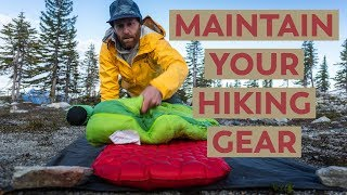 Maintaining Your Hiking Gear 101