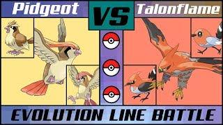 PIDGEOT vs. TALONFLAME! Bird Evo Line Battle (Pokémon Sun/Moon) MP3