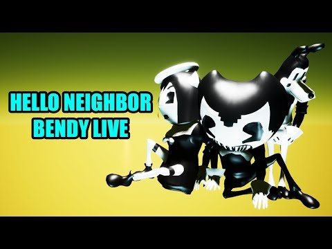 Hello Neighbor BENDY AND THE INK MACHINE Mod - Most Popular Videos