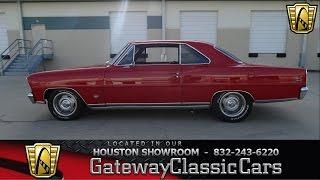 1966 Chevrolet Chevy Nova II SS  Gateway Classic Cars of Houston  Stock 445 HOU