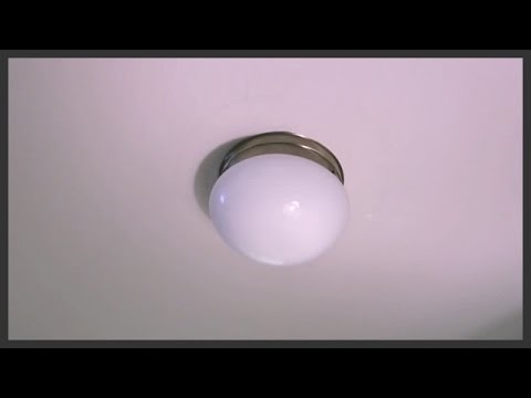 How To Replace A Ceiling Light Youtube