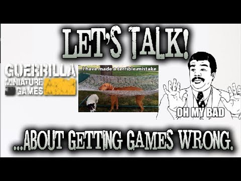 GMG Let's Talk! 010 - ...About Getting Games Wrong.
