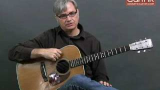 "Acoustic Guitar Lesson - Scott Nygaard Cross-Picking Lesson ""Listen to the Mockingbird"""