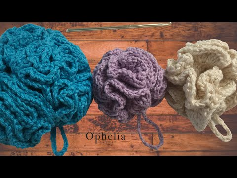 Ophelia Talks About Crocheting A Cotton Shower Puff Youtube