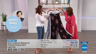 HSN | Fashions by Eva Longoria 06.28.2018 - 11 AM