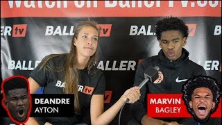 This or That - DeAndre Ayton or Marvin Bagley? (Pangos All-American Camp)