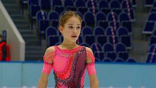 Софья Акатьева Короткая программа Девушки Кубок России 2020 21 Четвертый этап