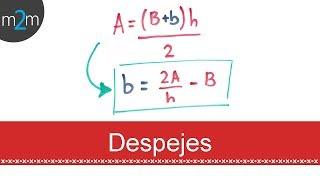 Como DESPEJAR Fórmulas
