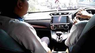 Test Drive CRV Turbo 2017 Prestige Part 2: Interior